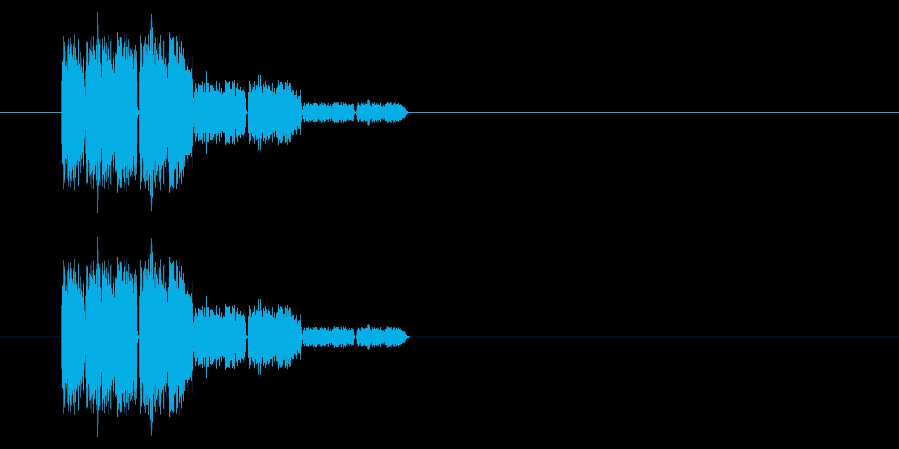 SNES 格闘02-10(ガラス)の再生済みの波形