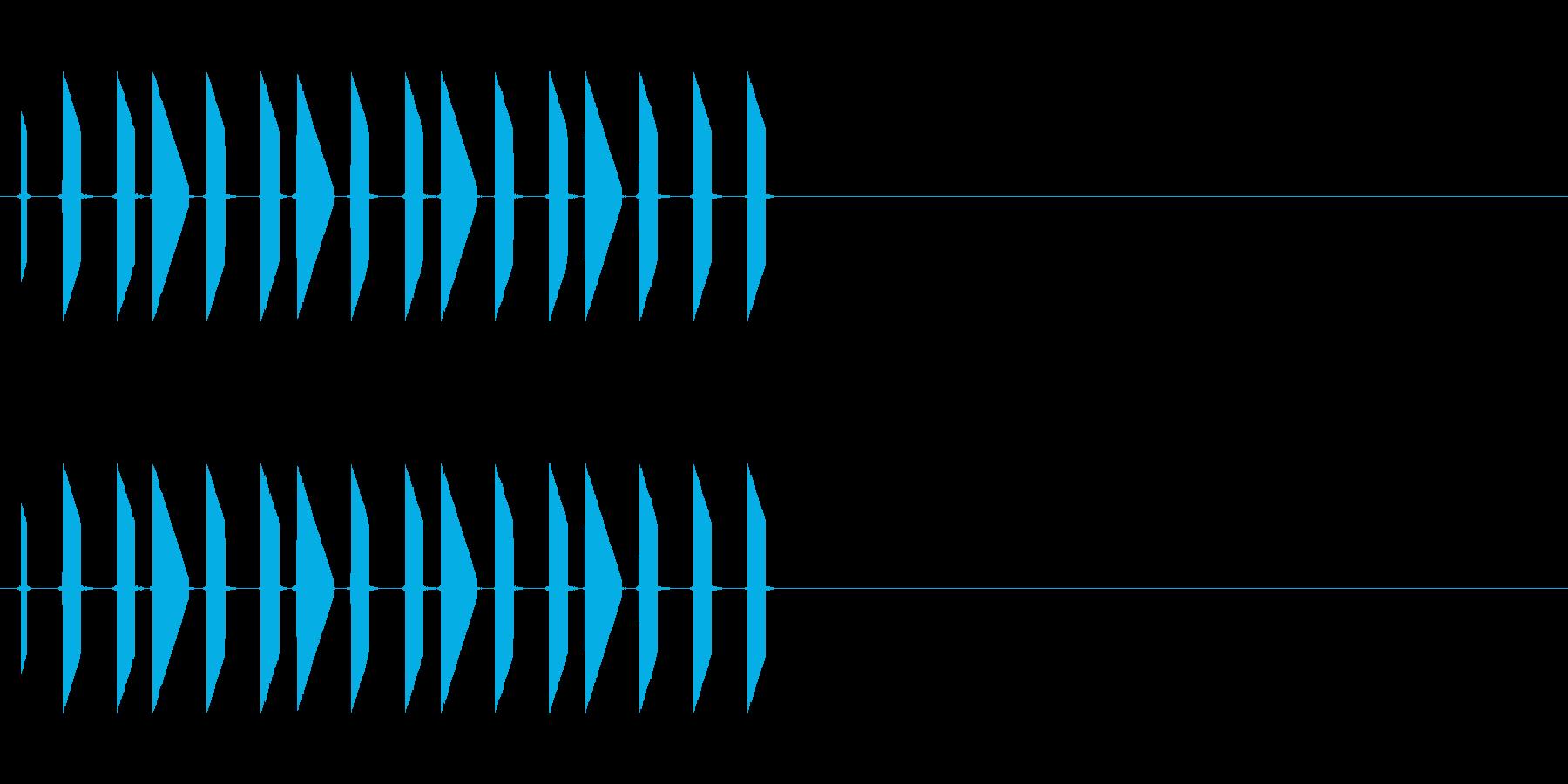 トゥルルルルル(会話、レトロゲーム、長)の再生済みの波形