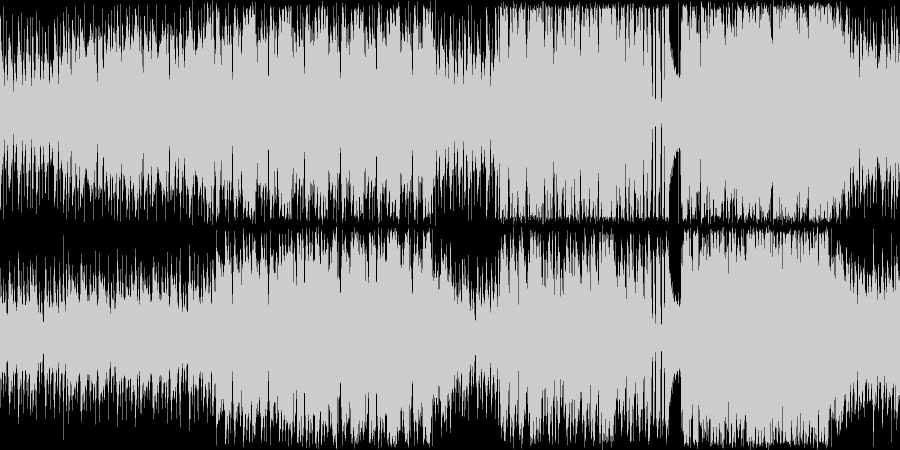 スキップしそうな明るいほのぼの系ピアノ曲の未再生の波形
