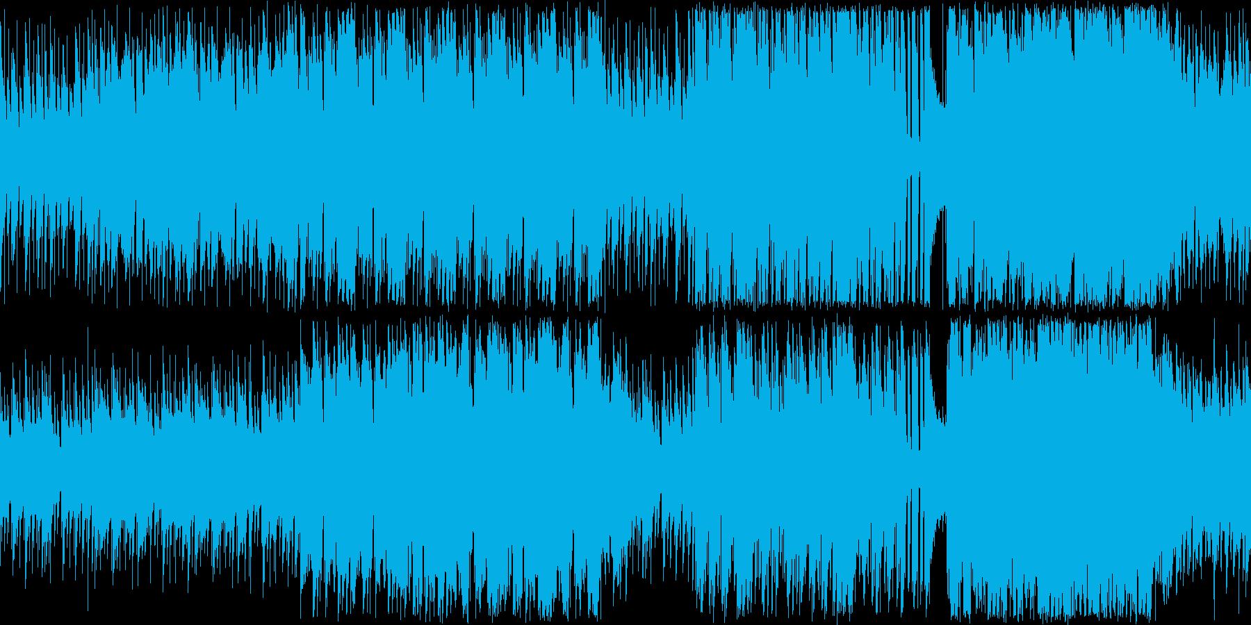 スキップしそうな明るいほのぼの系ピアノ曲の再生済みの波形
