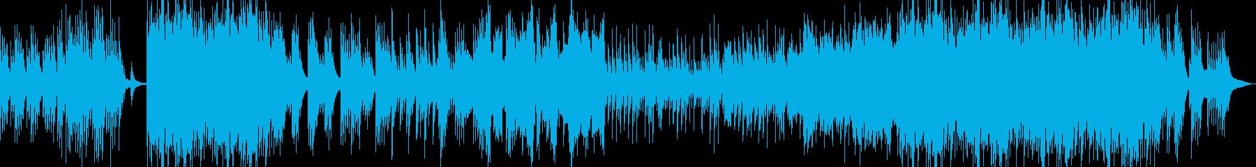 和風琴オーケストラ温かい春企業PVBGMの再生済みの波形
