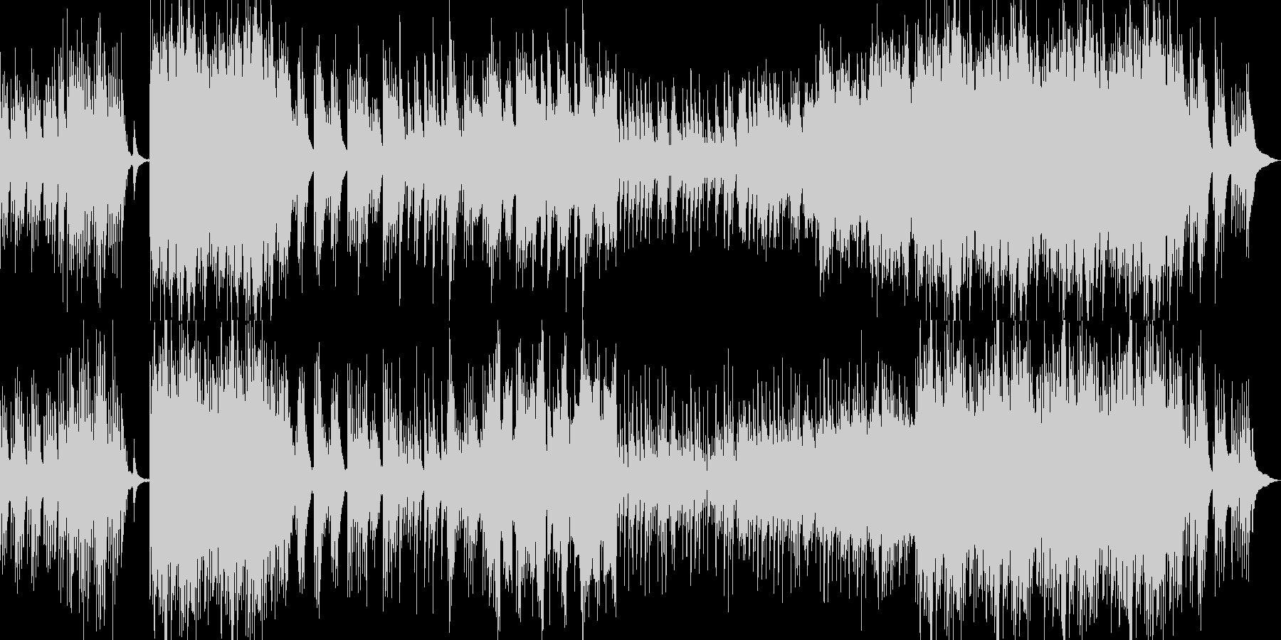 和風琴オーケストラ温かい春企業PVBGMの未再生の波形