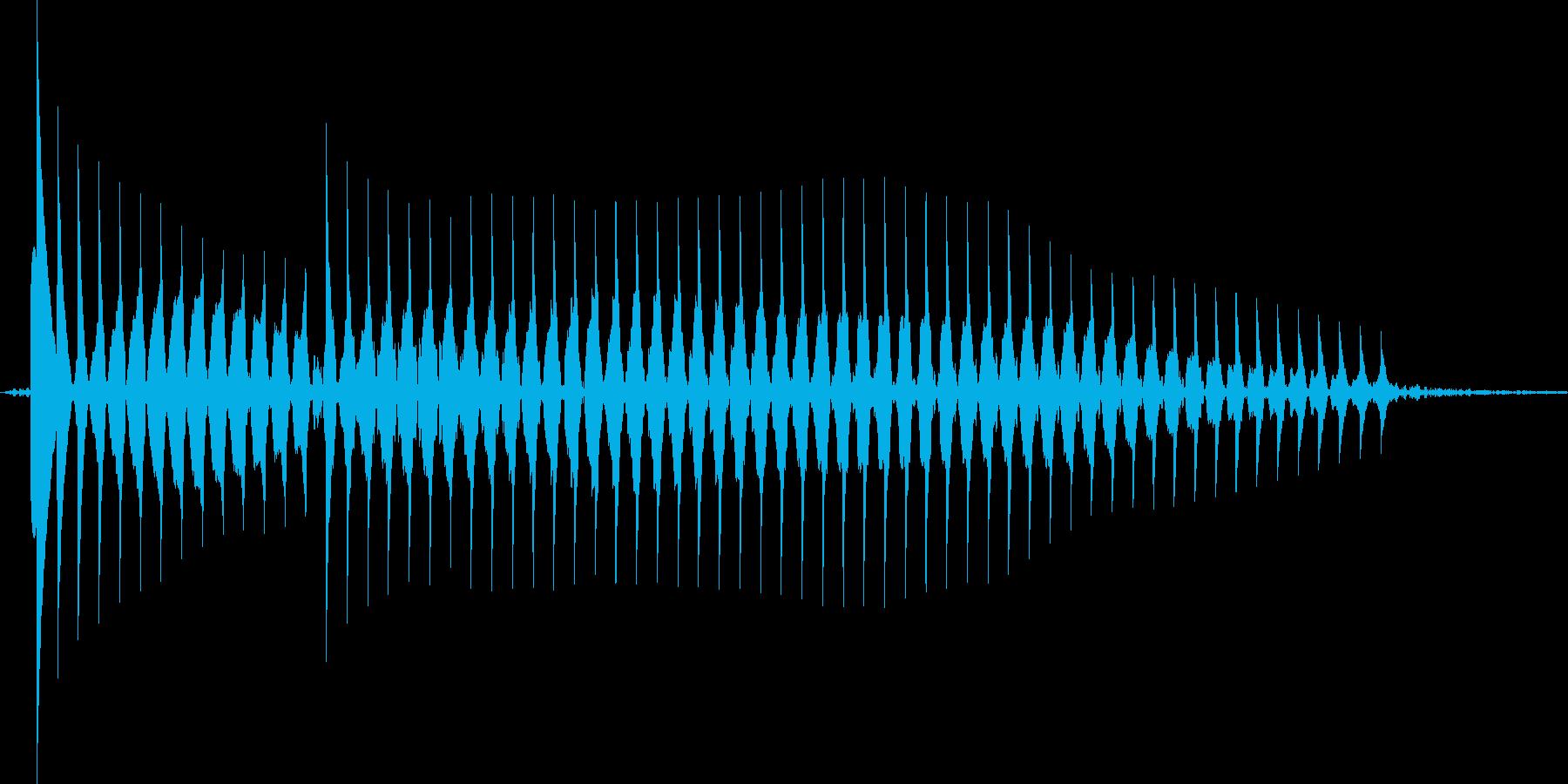 【クイズ】不正解音「ブッブー」可愛いの再生済みの波形