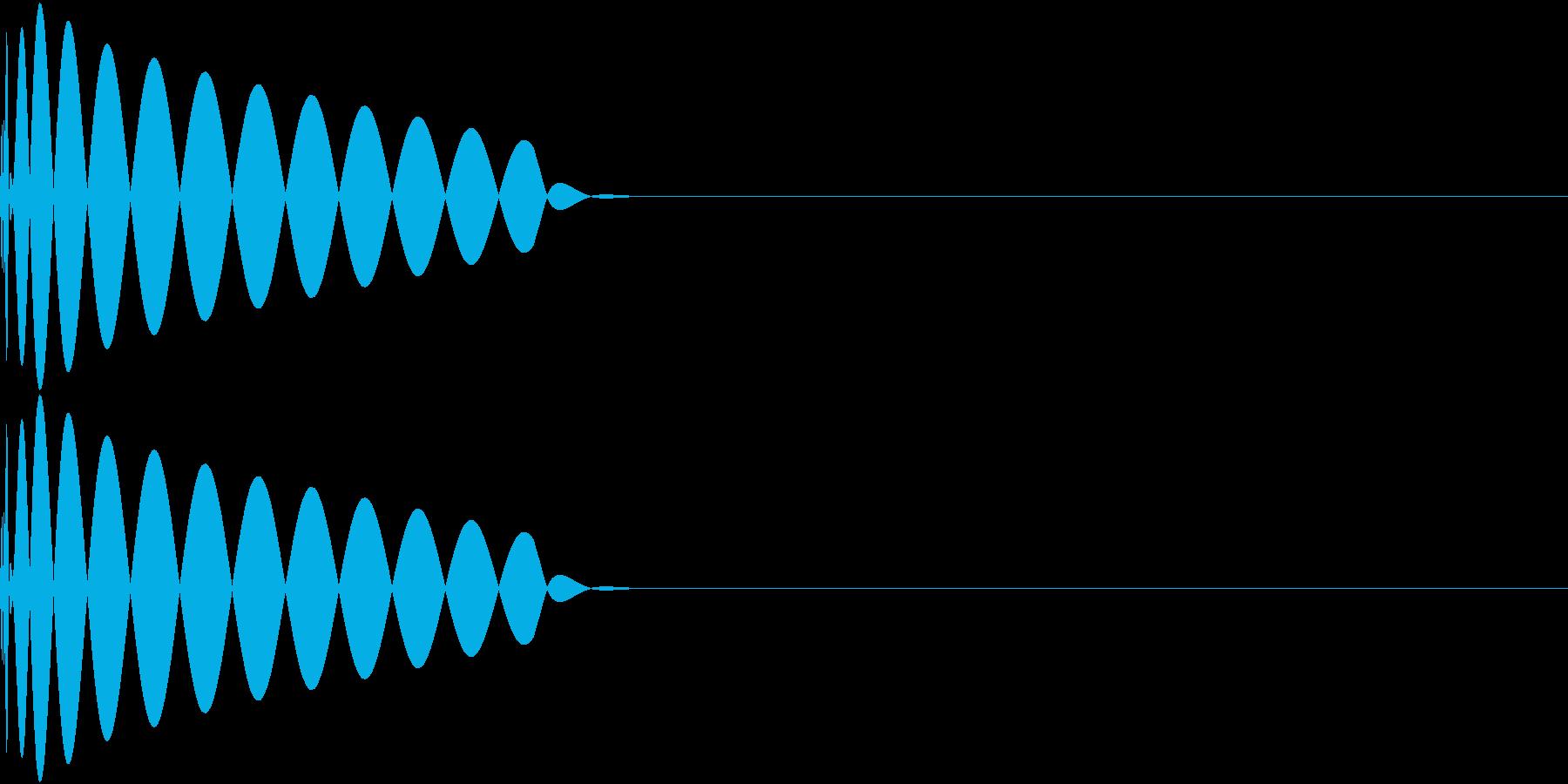 DTM Kick 37 オリジナル音源の再生済みの波形