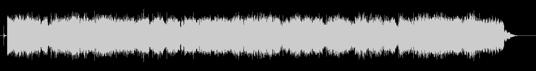 ノスタルジックな中国風BGM2の未再生の波形