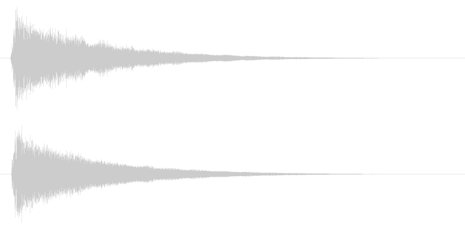 バリア/魔法/防御の未再生の波形
