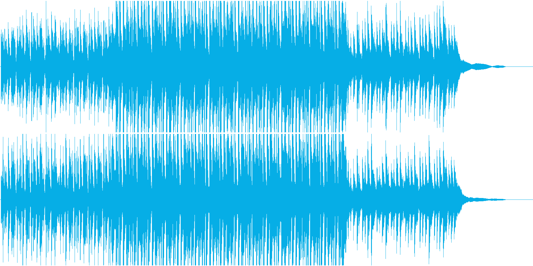 バーテンダー / ピアノハウス・ファンクの再生済みの波形