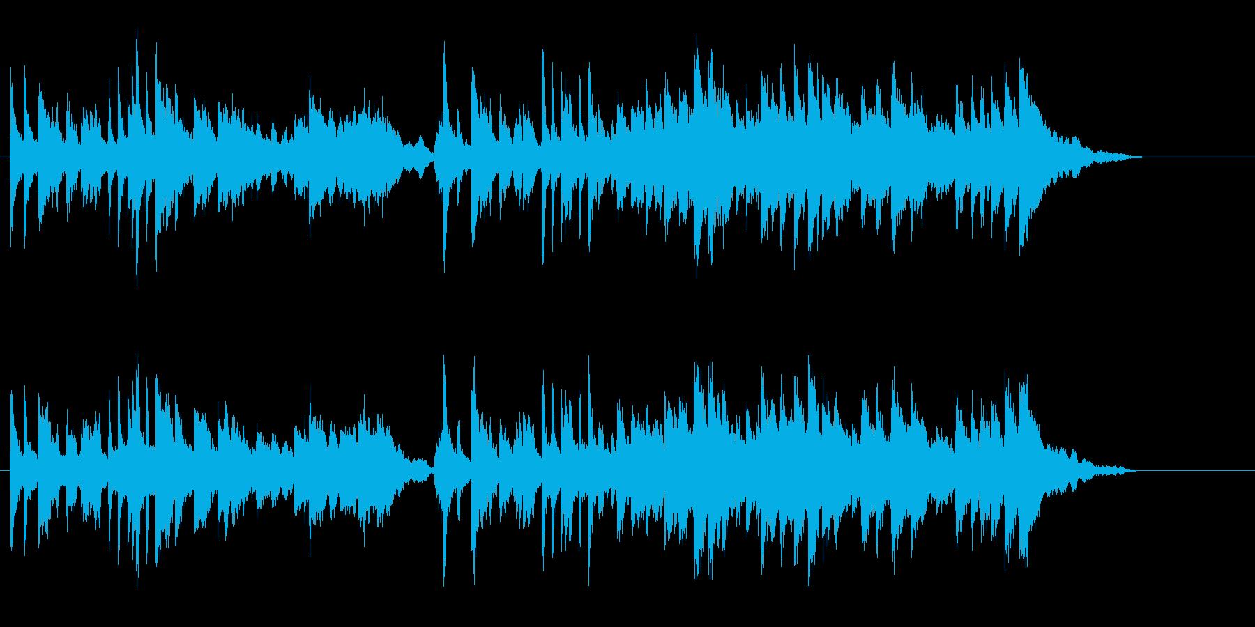 ショートインフォメーションプログラム向けの再生済みの波形