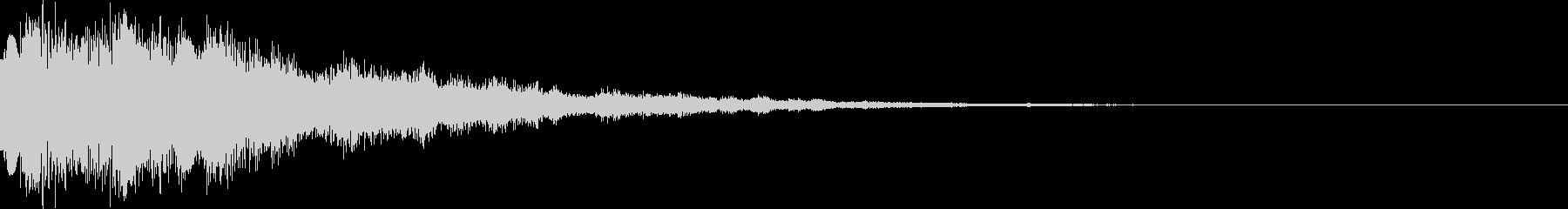 システム音36_Jの未再生の波形