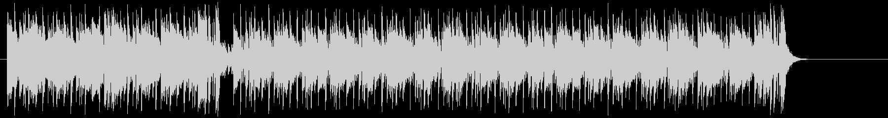 リゾート気分のポップ(イントロ~A~B)の未再生の波形