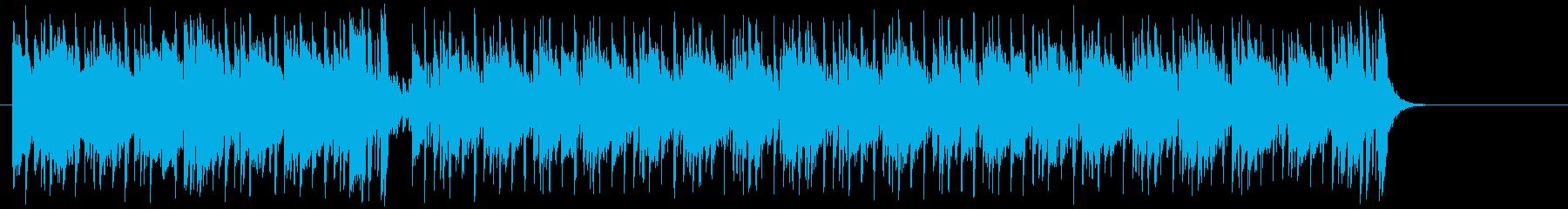 リゾート気分のポップ(イントロ~A~B)の再生済みの波形