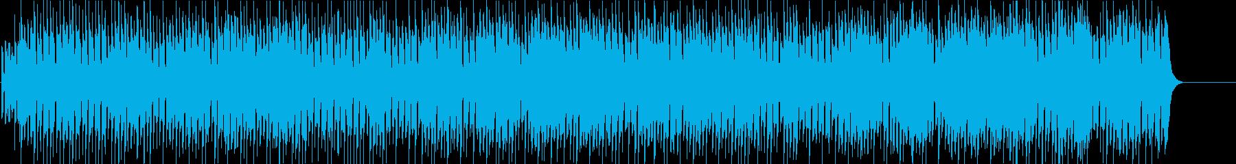 ブルース のんびり 散歩 リラックスの再生済みの波形
