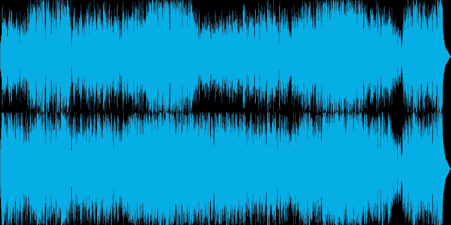フルートが印象的なユーミン風ボサノバの再生済みの波形