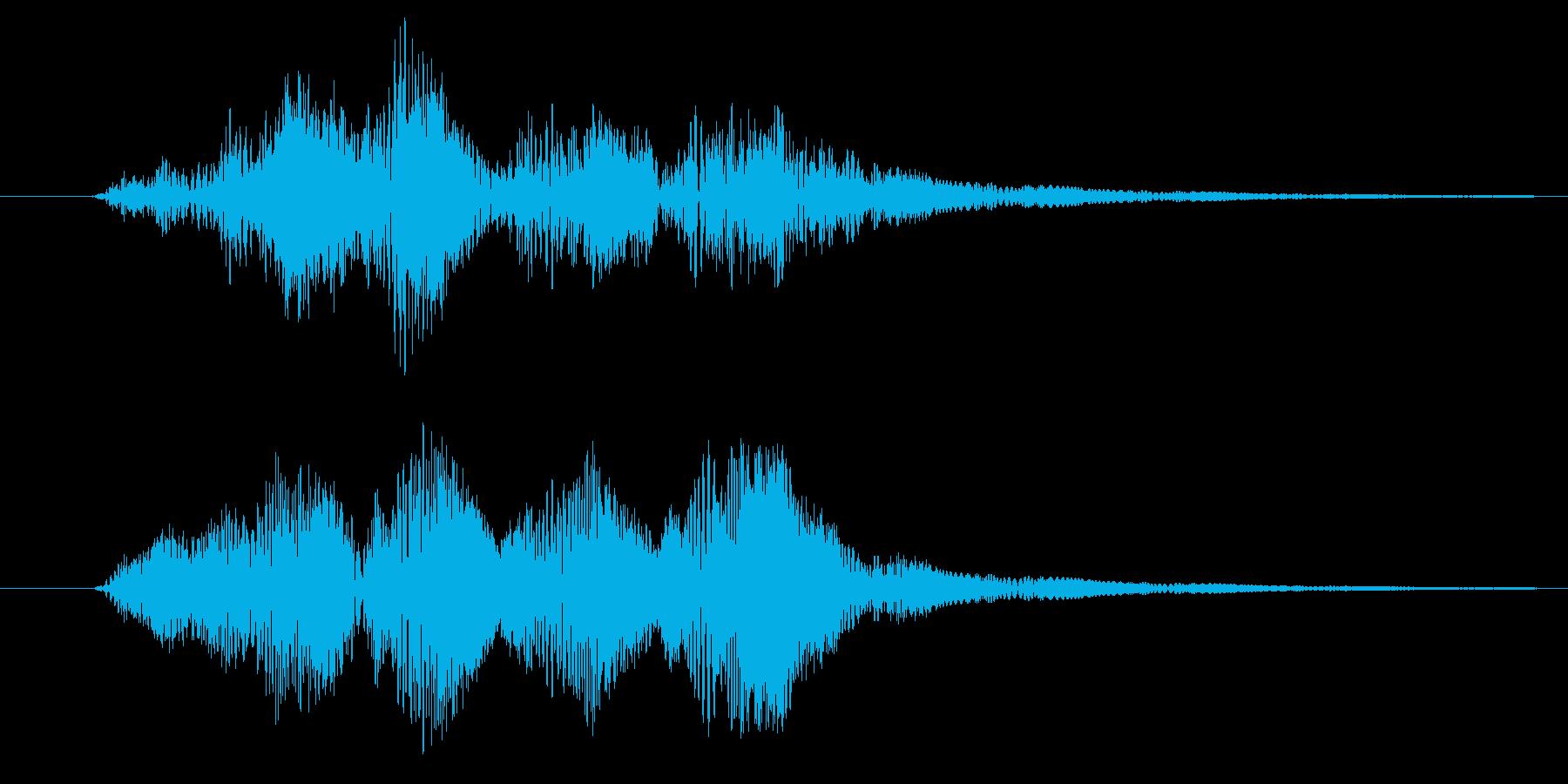 プルプル(スライム・ゼリー)2の再生済みの波形
