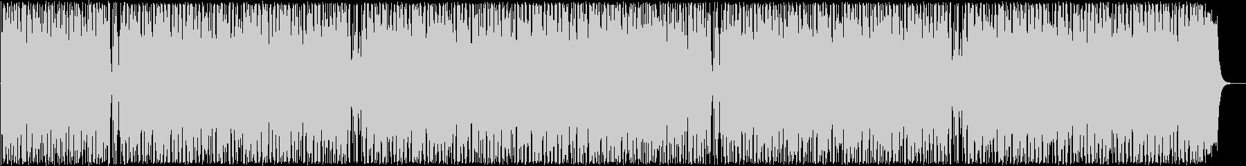 はじける感じのシンセ・打楽器サウンドの未再生の波形