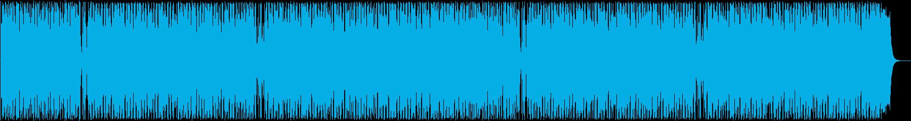 はじける感じのシンセ・打楽器サウンドの再生済みの波形