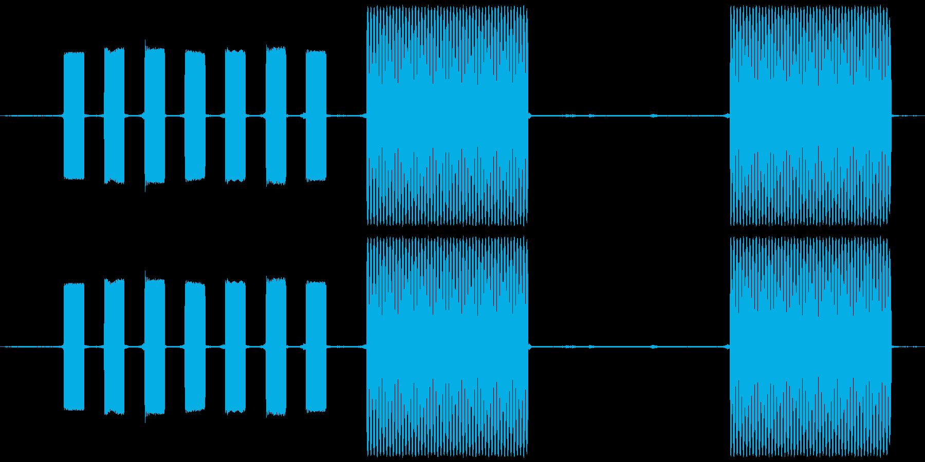 ピ、ポ、パ、トゥルルル・・・と電話をか…の再生済みの波形