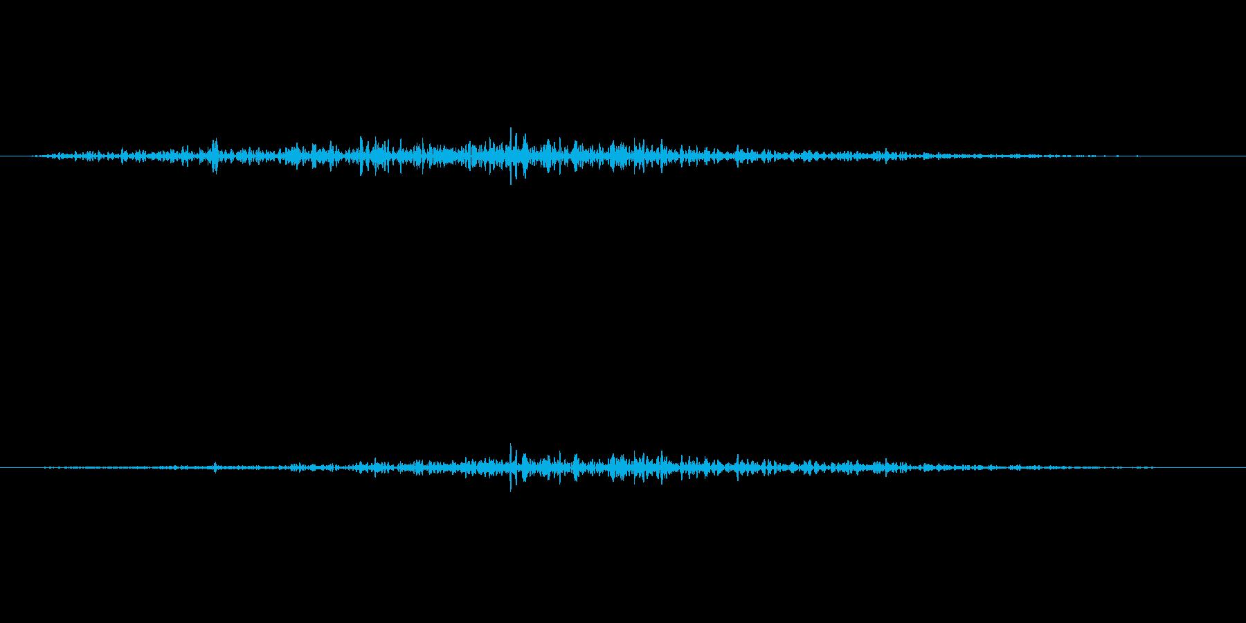 ぶおーの再生済みの波形