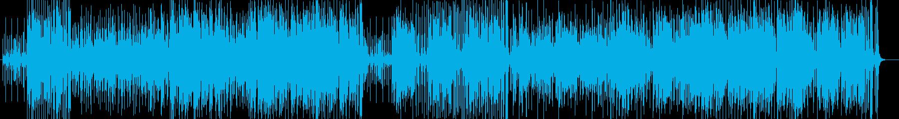 軽快なリズムが楽しいワールドミュージックの再生済みの波形