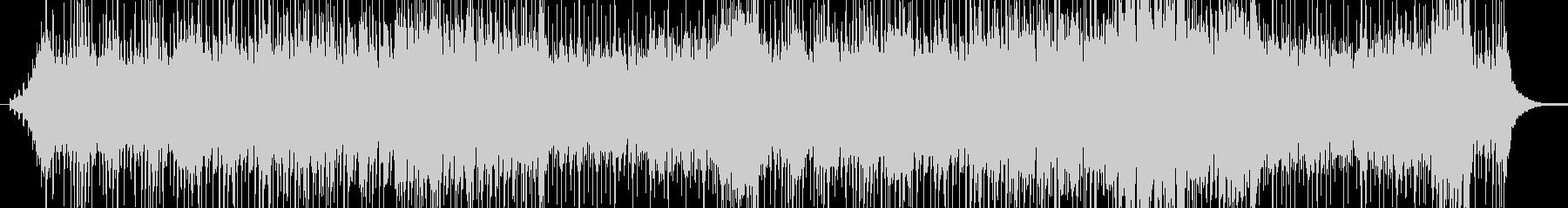 太鼓の重い音楽の未再生の波形