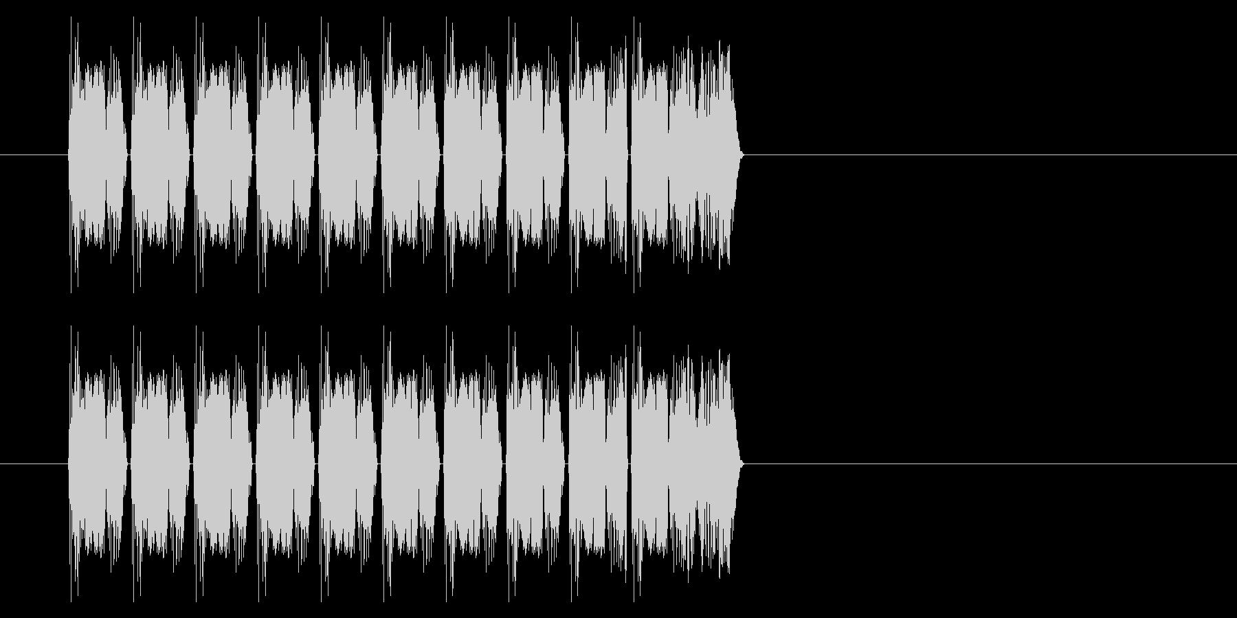 SNES シューティング02-02(発射の未再生の波形
