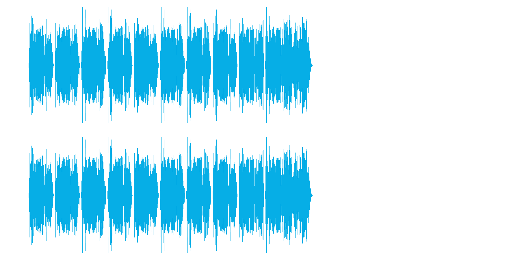 SNES シューティング02-02(発射の再生済みの波形