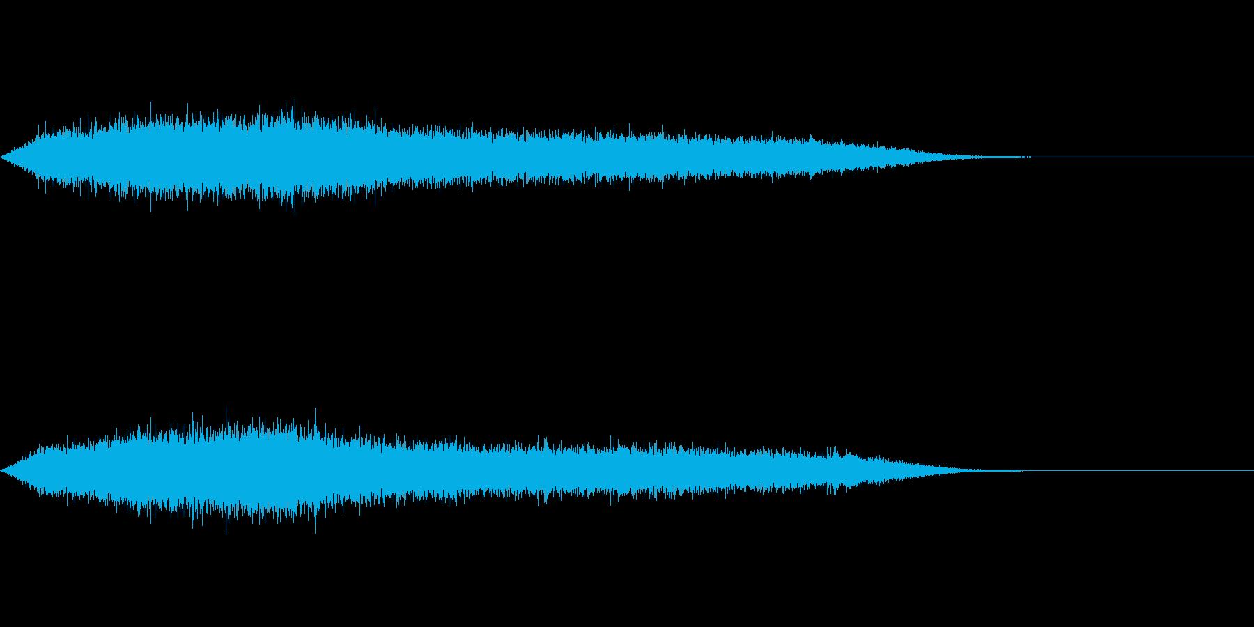 ワァー!キャー!コンサートライブの歓声5の再生済みの波形