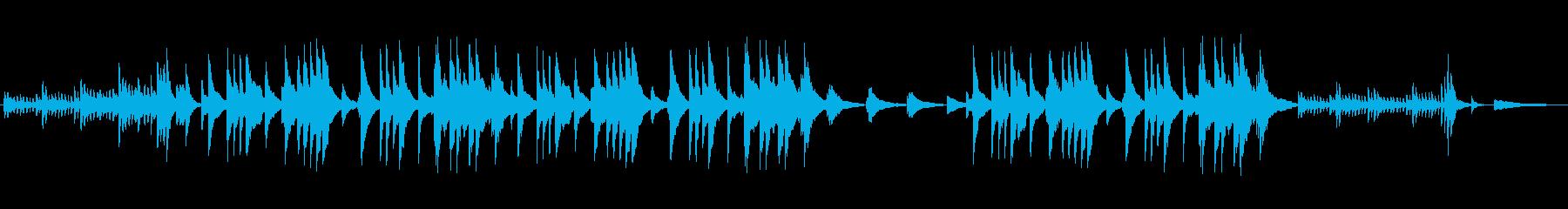 美しく切ないピアノサウンドの再生済みの波形