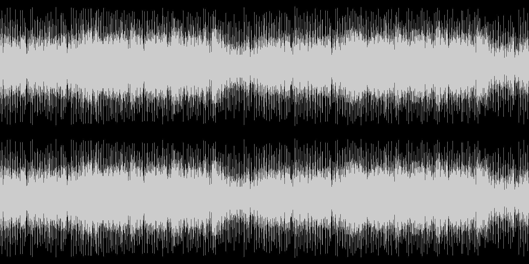 BGM023-02 ファミコンサウンド…の未再生の波形