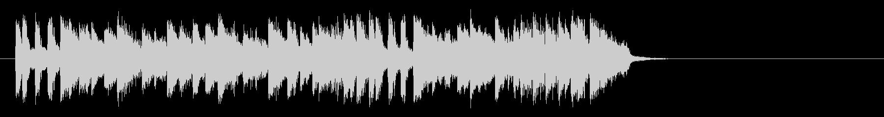 フュージョンバラード(サビ)の未再生の波形
