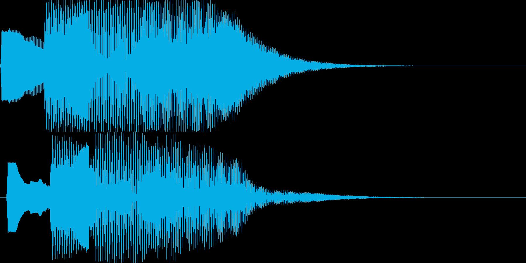 汎用決定ボタン - 4の再生済みの波形