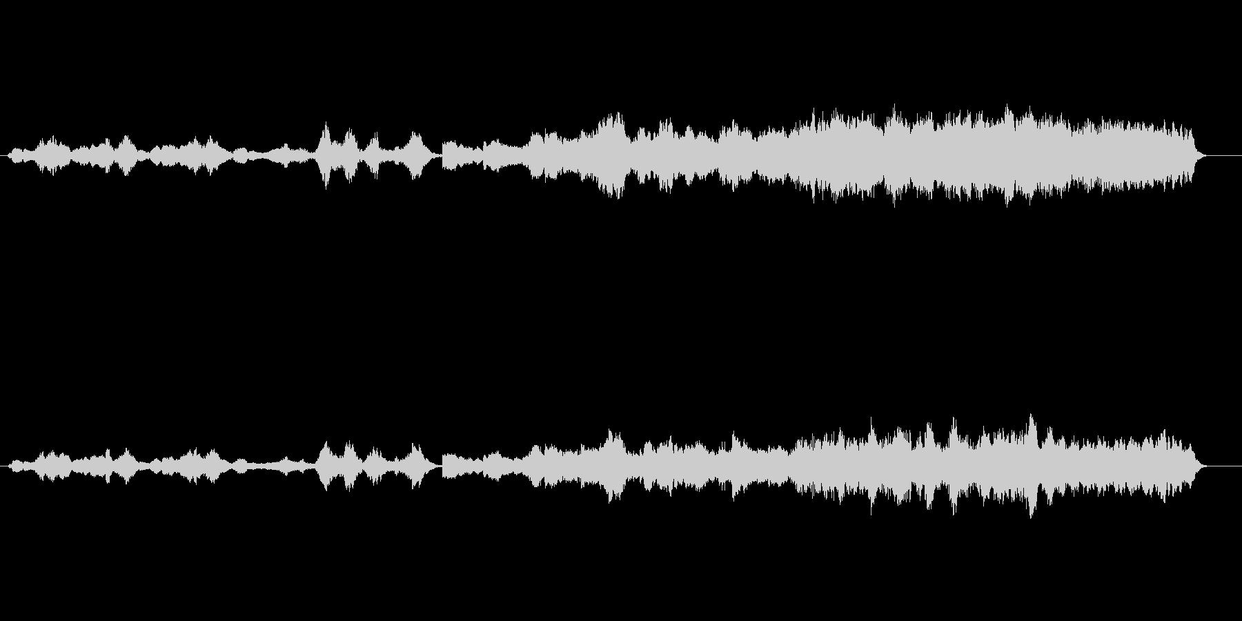 環境音楽風(惑星誕生)の未再生の波形