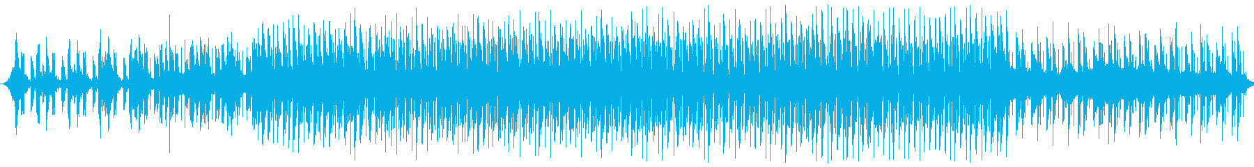 オーケストラのリズムにデジタルっぽさを…の再生済みの波形