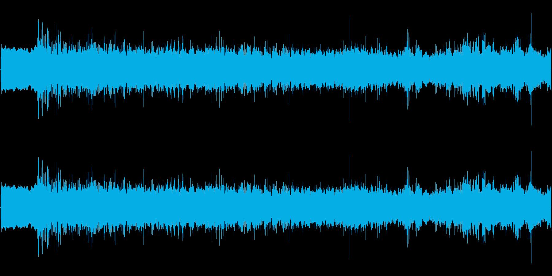 【生音】うぃーん、じりじり/シェイバー音の再生済みの波形