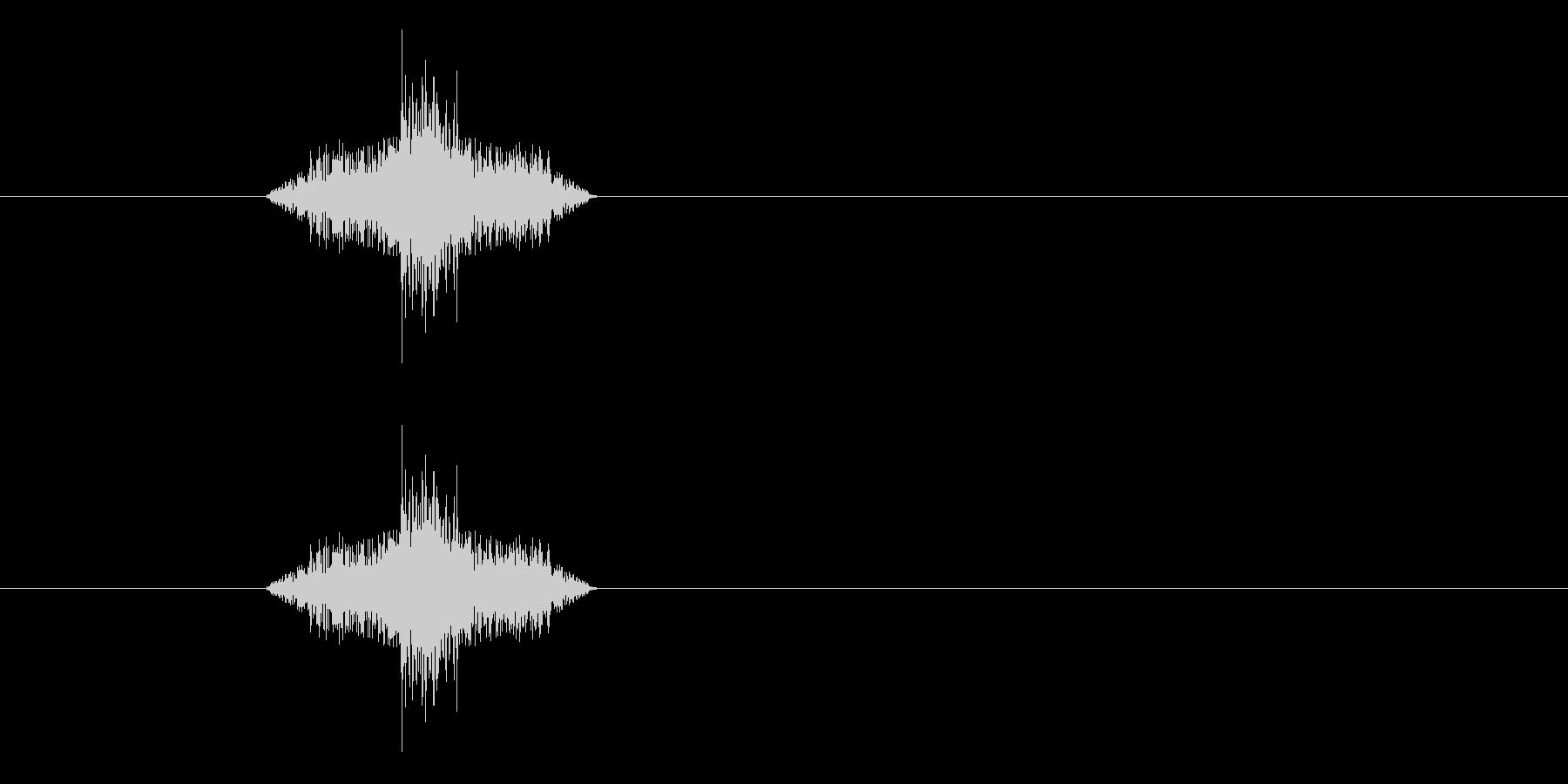 ジャン!リバースオケヒその3_音程高めの未再生の波形