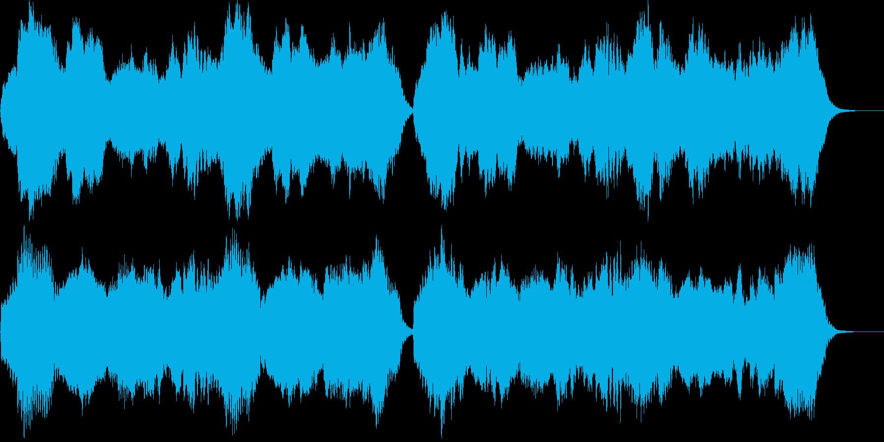 うとうとするような優しい木管四重奏の再生済みの波形