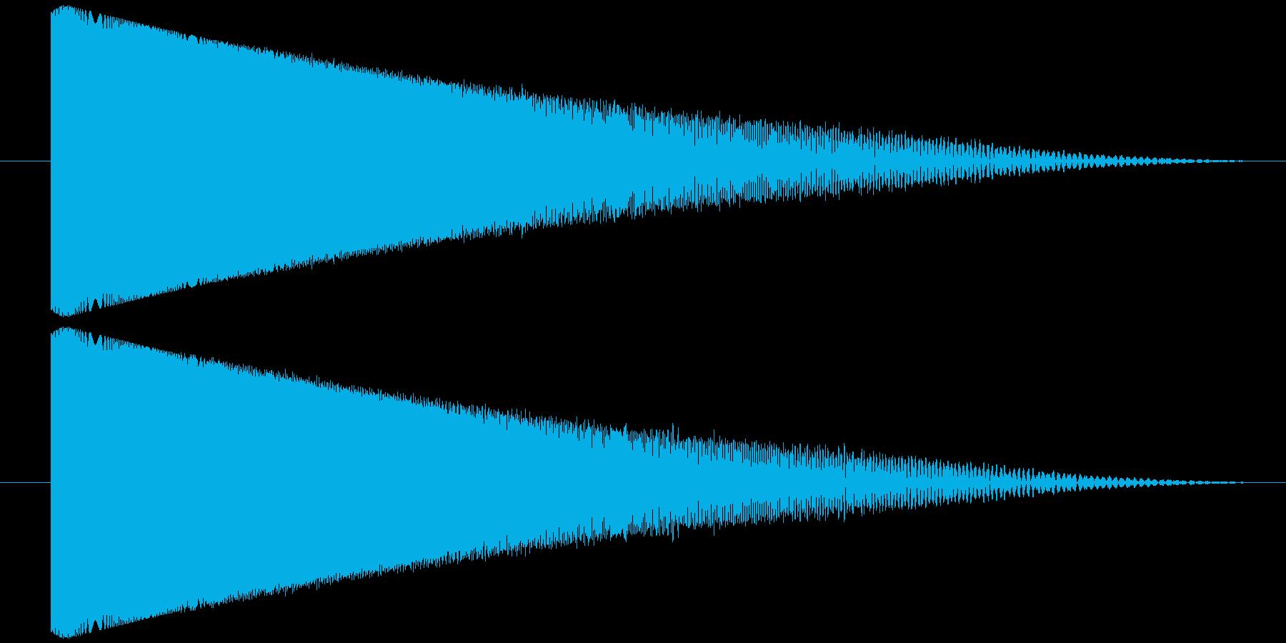 弾を撃つ(ショット) チュンの再生済みの波形