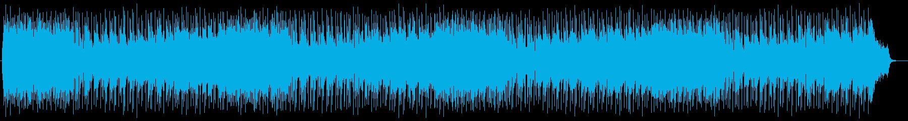 明るく爽やかでリズミカルなテクノの再生済みの波形