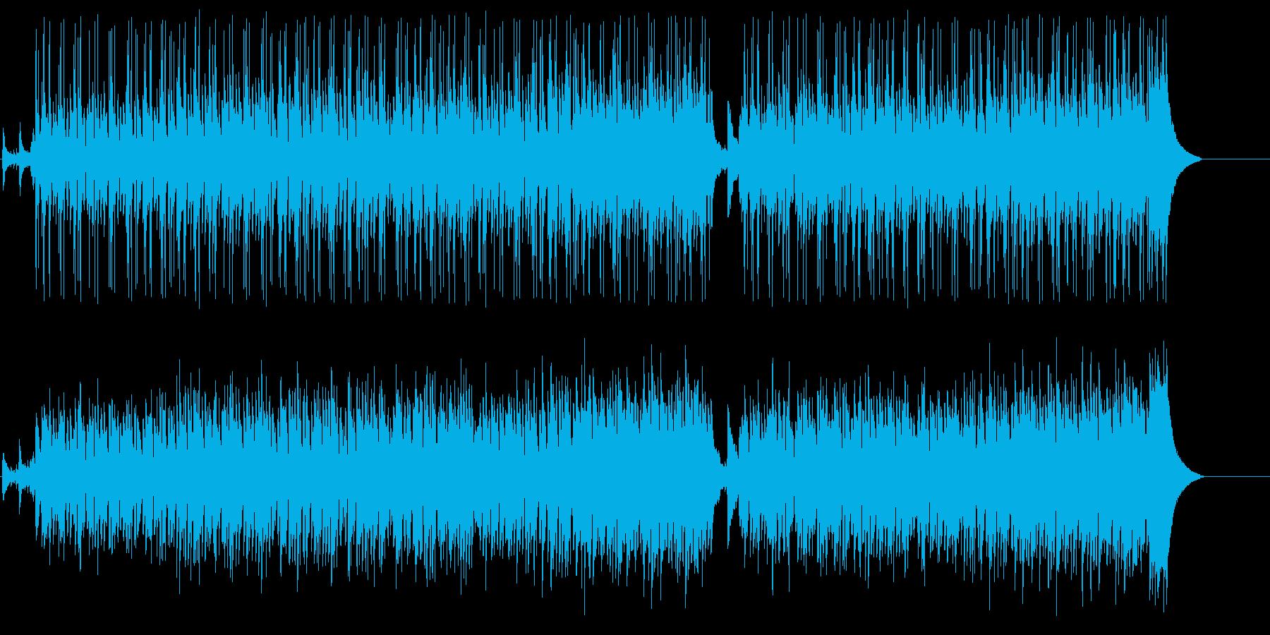 しっとりとしたポップ/BGの再生済みの波形
