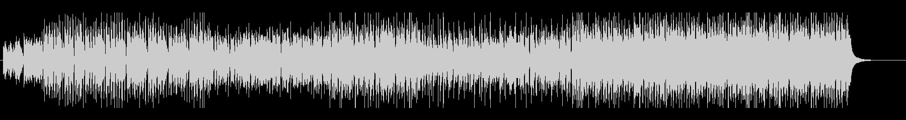 ジングルベルのシャッフルテクノの未再生の波形