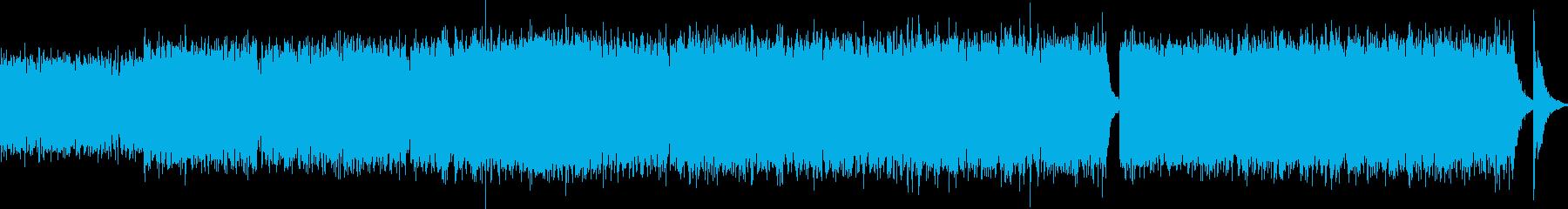 空へ飛び立つストリングスの再生済みの波形