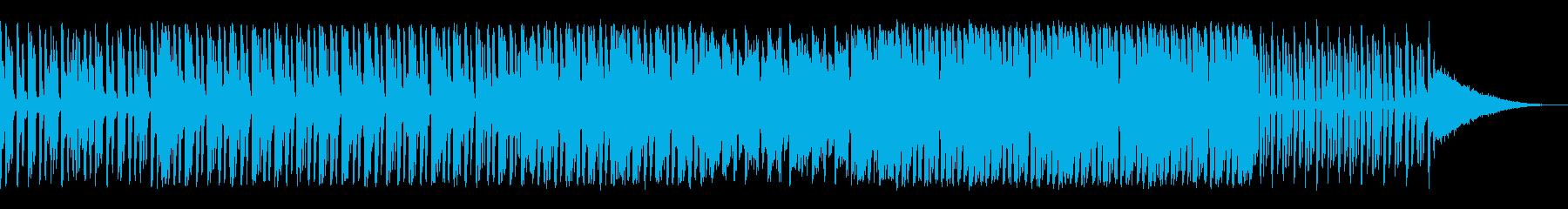 Jazz風レゲエ♫reggaeの再生済みの波形