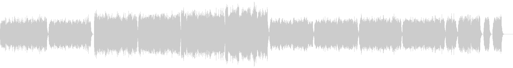『ペール・ギュント』第1組曲より第二曲の未再生の波形
