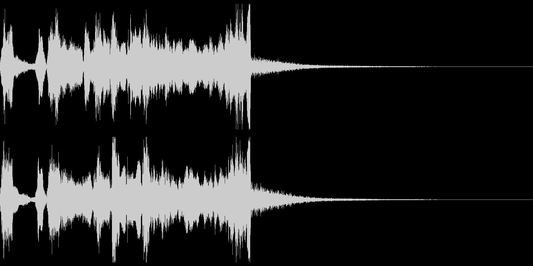シンプルなファンファーレ2+ハモ+Drの未再生の波形