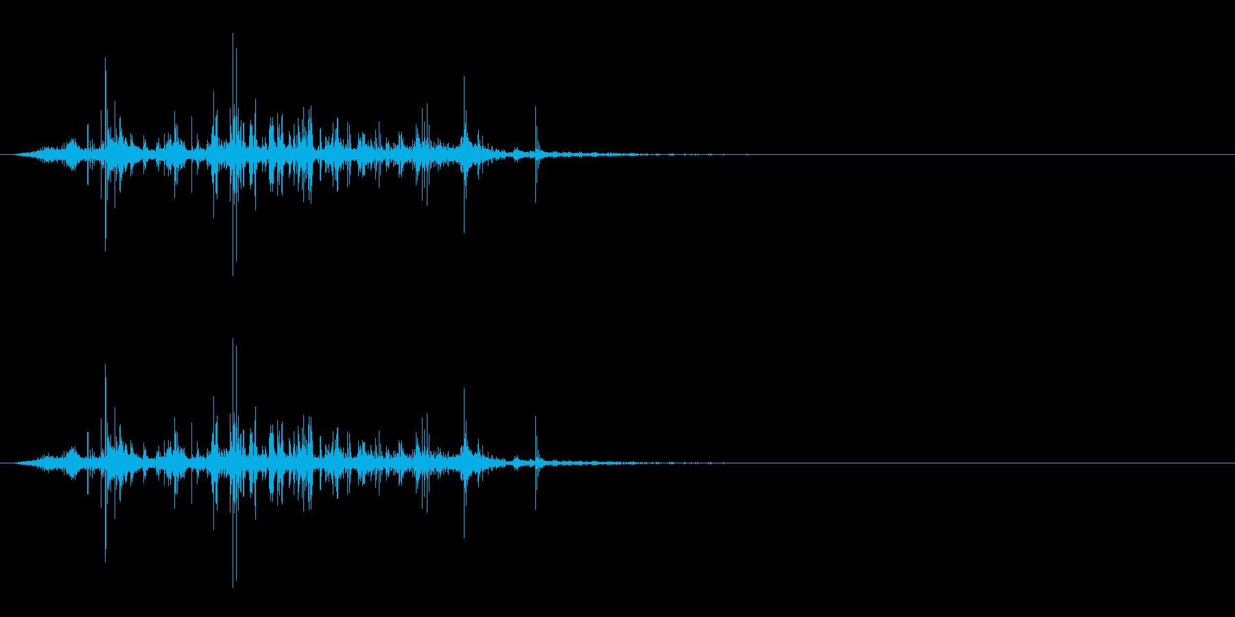 昆虫採集/羽音/虫系モンスターの再生済みの波形