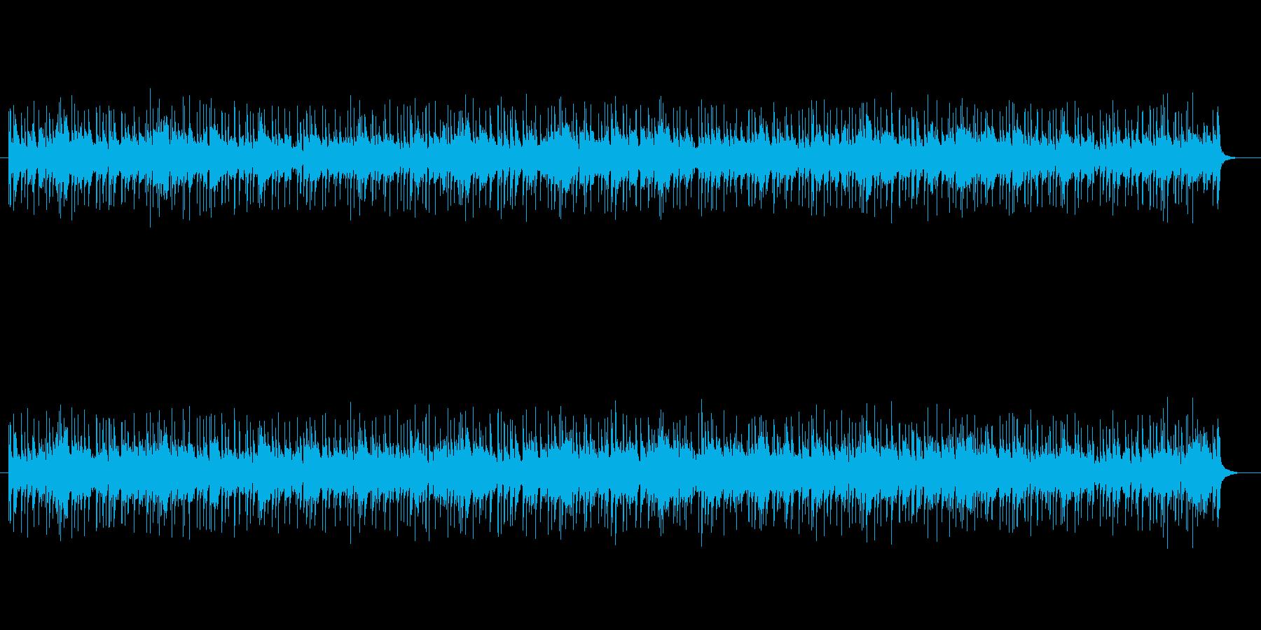 軽快なフュージョン(インフォメーション)の再生済みの波形