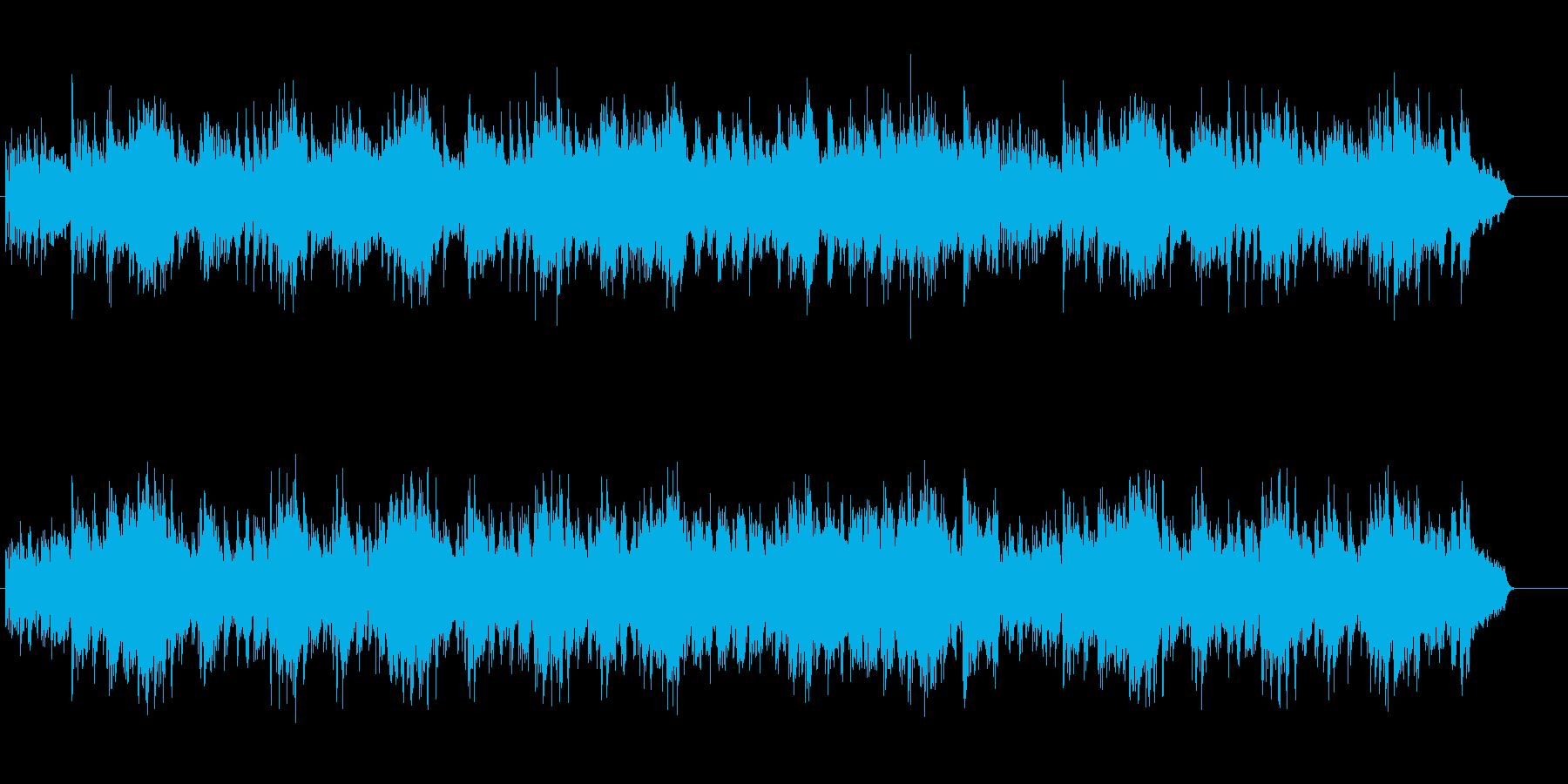 安らぎとロマンのアコースティックの再生済みの波形