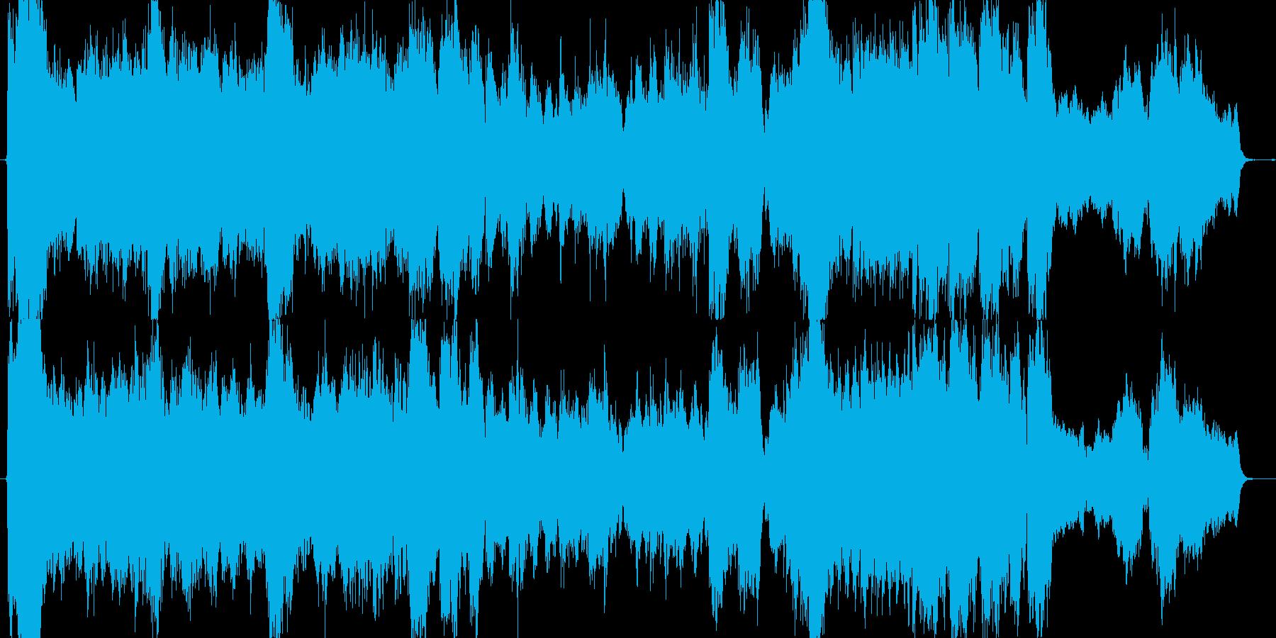 雄大な自然・感動するオーケストラの再生済みの波形