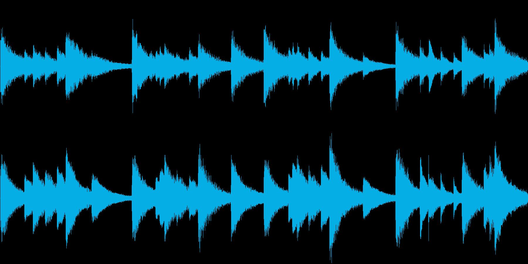 ピアノをメインにしたブランドイメージC…の再生済みの波形
