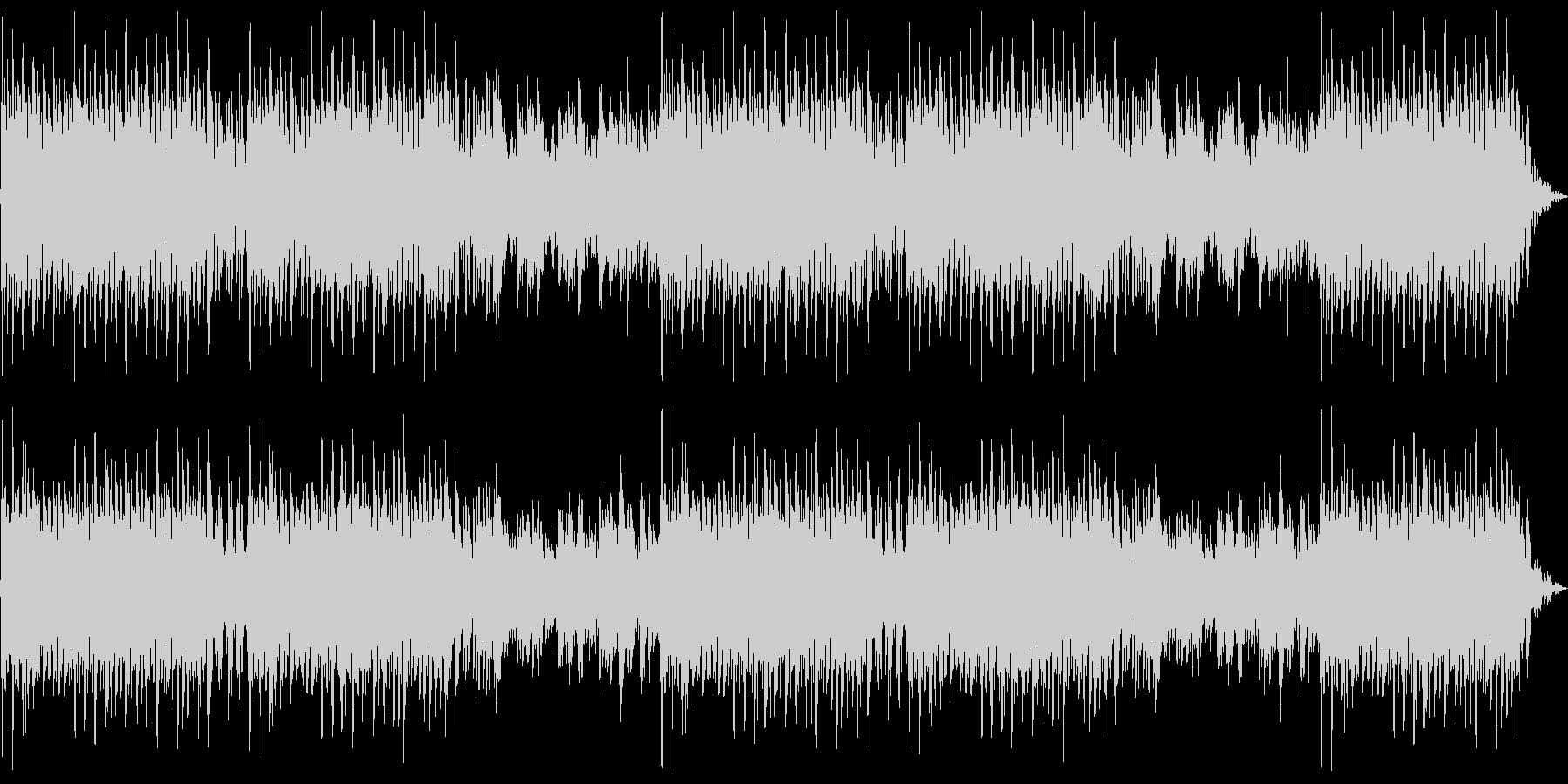 気高さと疾走感を描く合唱曲:編集Aの未再生の波形